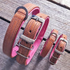 Dog Collar - Tuscan Rogue Tan|Pink