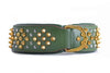 Dog Collar -  Imperial Havana Green