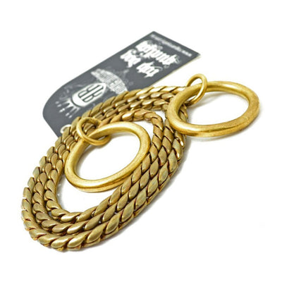 Dog Training - Brass Slip Chain