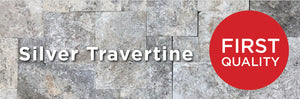 Silver Travertine First Quality