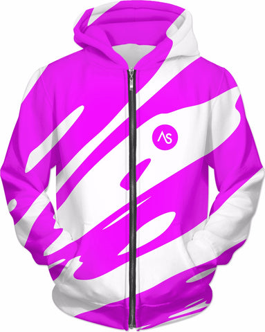 AS X7 Violent Pink Hoodie