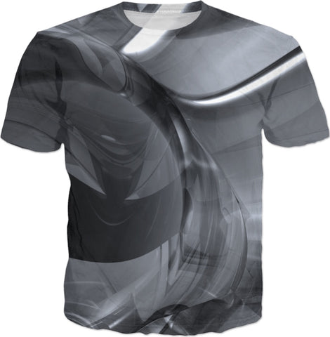 Polarity II Abstract Print T-Shirt