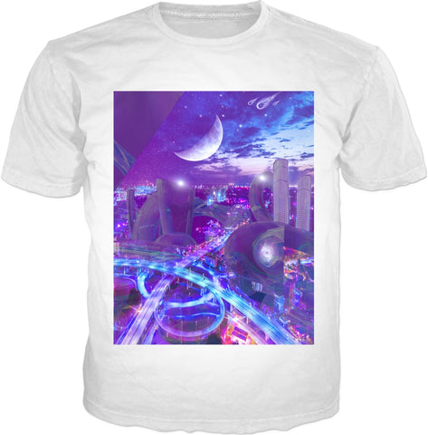 Crystal City White T-shirt