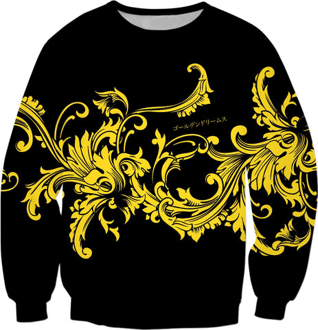 Golden Dreams Baroque Sweatshirt