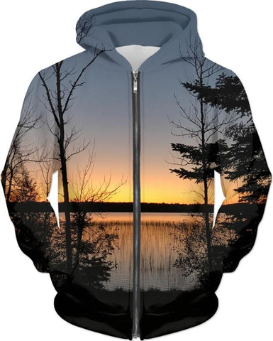 Serenity At The Lake Hoodie