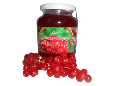 Sugar Free Premium Redcurrant Jam with Natural Sweeteners-heart-cafe.co.uk