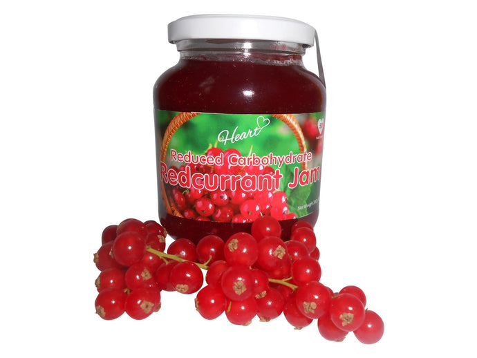 Sugar Free Premium Redcurrant Jam heart-cafe.co.uk