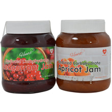 Low Sugar Apricot + Redcurrant Jam 2x380g