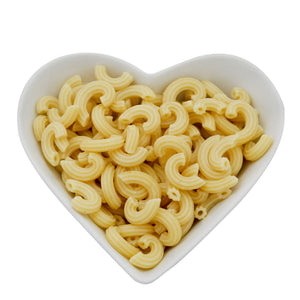 Low Carb Wheat High Fibre/Protein Elbow Macaroni Pasta with 4 Free Range Eggs 250g