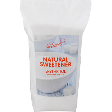 100% Erythritol Natural Sweetener heart-cafe.co.uk