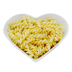 Low Carb Wheat High Fibre/Protein Fusilli Pasta With 4 Free Range Eggs 500g