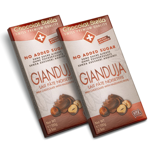 Sugar Gluten Free Swiss Gianduja Milk chocolate|heart-cafe.co.uk