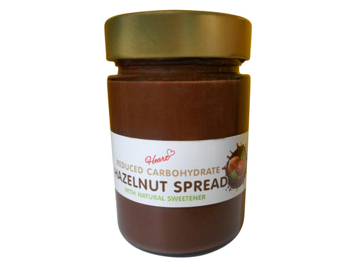 Sugar Free Hazelnut Chocolate Spread 380g|heart-cafe.co.uk