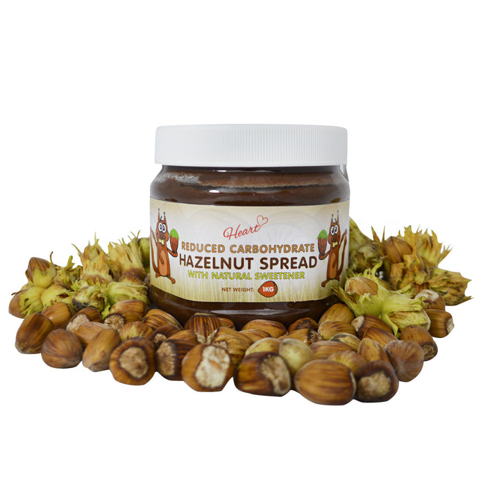 Sugar Free Hazelnut Chocolate Spread 1Kg-heart-cafe.co.uk