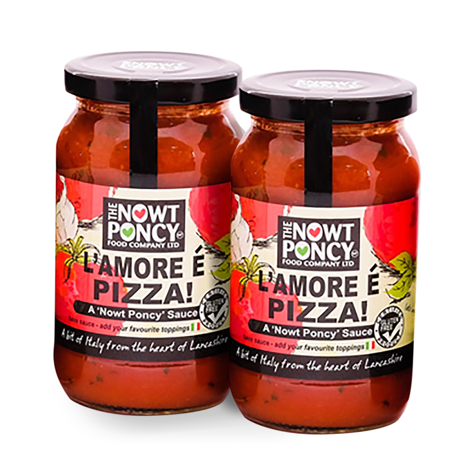 Low Carb Gluten Dairy Free  Pizza Sauces 2x350g-heart-cafe.co.uk