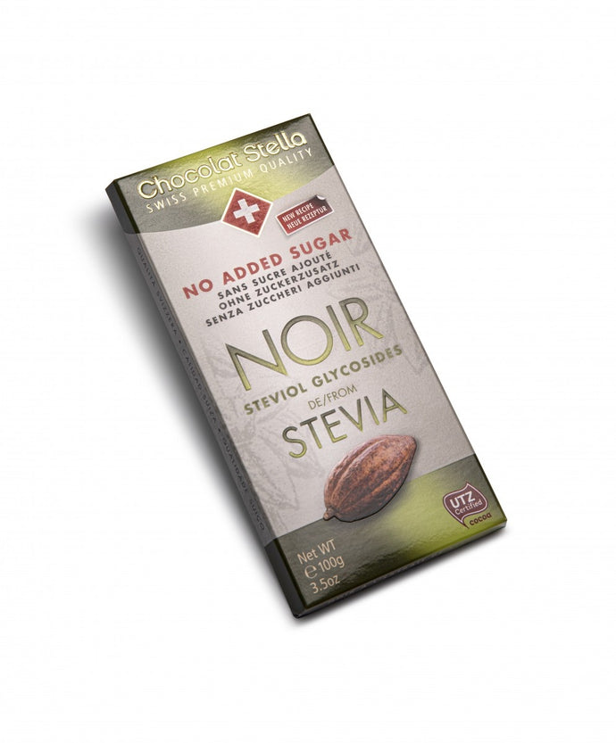 No Added Sugar Dark Stevia Swiss Chocolate|heart-cafe.co.uk