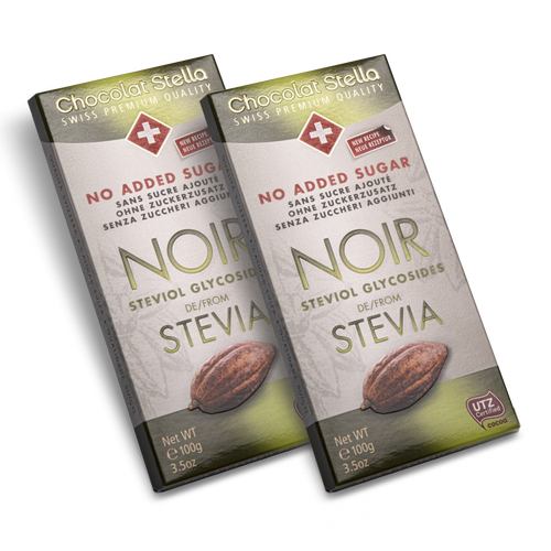 Sugar Gluten Free Swiss Stevia Dark Chocolate|heart-cafe.co.uk