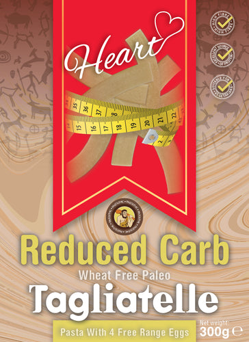 Low Carb Wheat Free Paleo Tagliatelle Pasta With Eggs -Heart
