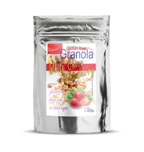 Gluten Dairy Sugar Free White Choco Strawberry Granola800g|heart-cafe.co.uk