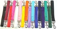 "Load image into Gallery viewer, 10"" Short Close Control Dog Lead In Various Colours"