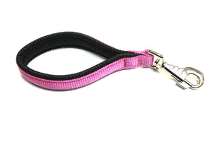 "13"" Short Close Control Dog Lead With Padded Handle In Various Colours"