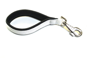 "10"" Short Close Control Dog Lead With Padded Handle In Various Colours"