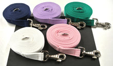 Load image into Gallery viewer, Horse lunge line dog training lead 10ft in 5 colours
