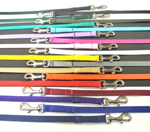 "76"" Dog Walking Lead 13mm Webbing In Various Colours"