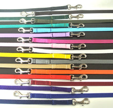 "Load image into Gallery viewer, 76"" Long Dog Walking Lead Puppy Leash 13mm Wide Strong Durable Webbing In 19 Colours"