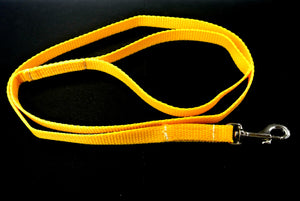 "76"" Long Dog Walking Lead Puppy Leash 13mm Wide Strong Durable Webbing In 19 Colours"