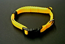 Load image into Gallery viewer, 13mm Puppy Dog Collars Strong Durable Adjustable In 19 Colours Sizes X Small And Small