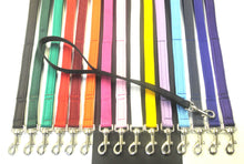 "Load image into Gallery viewer, 18"" Short Close Control Dog Lead 25mm Webbing In Various Colours"