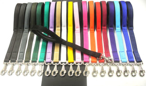 "20"" Short Close Control Dog Lead In Various Colours"