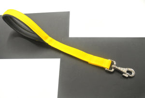 "18"" Short Close Control Dog Lead With Padded Handle In Various Colours"