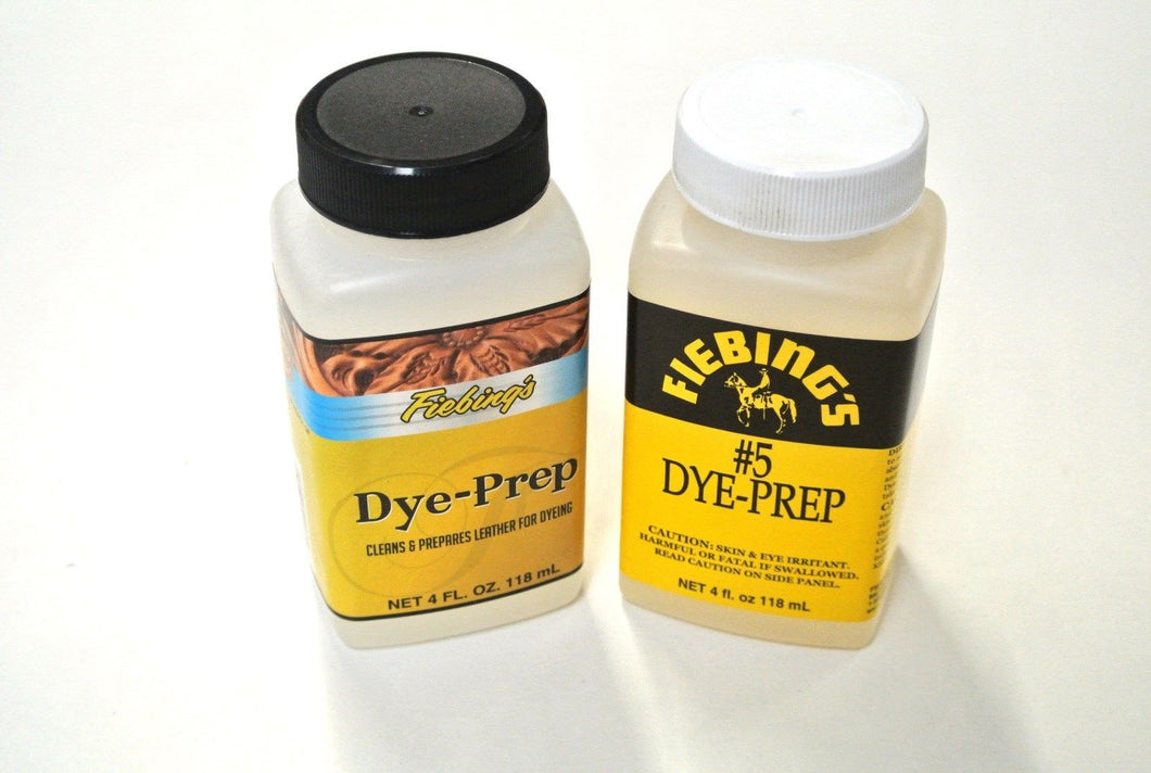 Fiebing Leather Dye Prep 118ml 4oz Cleans Prepares Leather For Dyeing