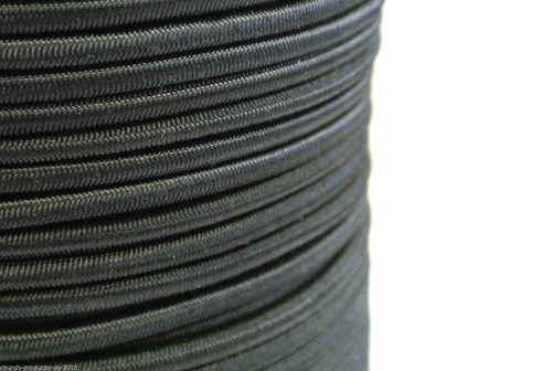 3mm 5mm 6mm Bungee Cord Elastic Black Craft Trailer Boat DIY x1 x2 x5 x10 Metres