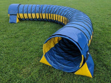 Load image into Gallery viewer, Dog Agility Training Tunnel Sandbags Adjustable For Indoor Outdoor Apparatus UV PVC Various Colours