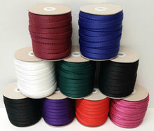 Load image into Gallery viewer, 10mm Wide Webbing In 8 Various Colours For Bag Handles Straps Leads Crafts