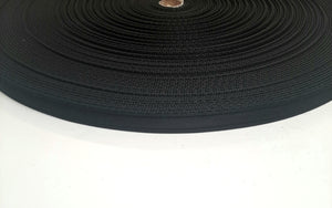 16mm Cushion Webbing In Black For Dog Leads Straps Crafts 5m 10m 25m 50m Lengths