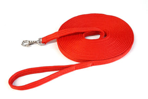 Horse Lunge Line Large Dog Training Lead Leash Soft Cushioned Padded 25mm Air Webbing
