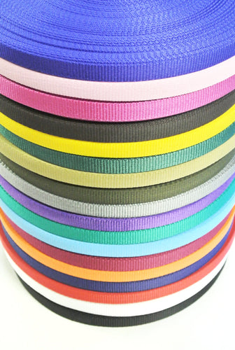 13mm Wide Webbing In Various Colours