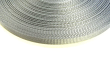 Load image into Gallery viewer, 13mm Wide Webbing In Silver/Grey