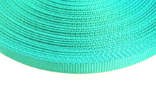 Load image into Gallery viewer, 16mm Wide Webbing In Emerald Green