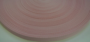 16mm Wide Webbing In Baby Pink