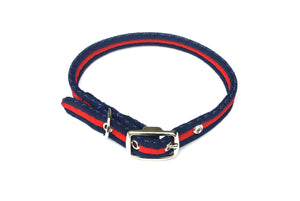 20mm Dog Collars Soft Strong Durable Air Webbing In Various Colours & Sizes