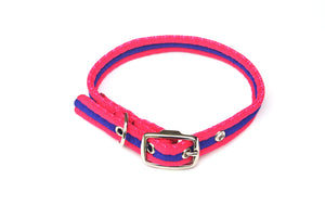 25mm Dog Collars Soft Strong Durable Air Webbing In Various Colours & Sizes