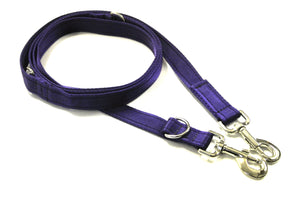20mm Police Style Dog Training Leads Double Ended Obedience Leash Multi-Functional