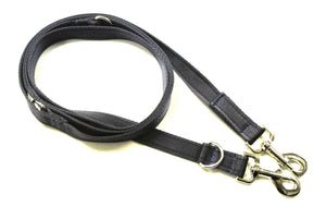 25mm Police Style Dog Training Leads Double Ended Obedience Leash Multi-Functional