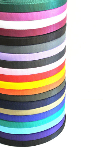 25mm Polypropylene Webbing In Various Lengths And Colours