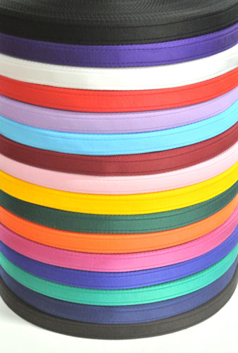 25mm Cushion Webbing In Various Lengths And Colours